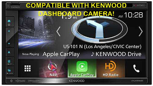 "KENWOOD eXelon In-Dash 6.8"" HD Navigation System with  Bluetooth and HD Radio and Kenwood Dashboard Camera Ready"