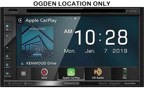 "KENWOOD eXelon 6.8"" WVGA Navigation/DVD Receiver, Garmin Navigation with Junction View, INRIX Traffic and Data"