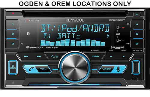 KENWOOD In-Dash Double DIN CD Receiver with Built-In Bluetooth