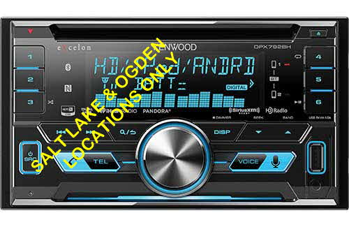 KENWOOD Double DIN NFC Bluetooth In-Dash CD/AM/FM Car Stereo w/ Built-in HD Radio and SiriusXM Ready