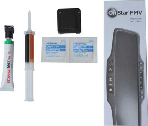 ONSTAR SMALL FOOTPRINT FMV MIRROR MOUNTING KIT