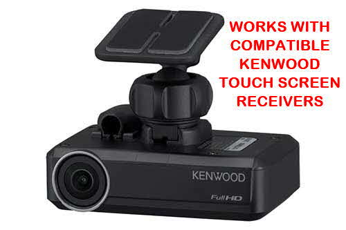Kenwood Dashboard camera for use with select Kenwood video receivers