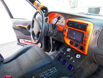 "2001 Ford Explorer Sport Truck. Kenwood 6.95"" Nav Read Receiver. Rockford Fosgate: Processor, 3 Amplifiers, 4pr. 6 1/2"" Component Spkrs, 2 Power Series Subs, 1pr. 4"" Coax Spkrs in custom built fiber glass A-Pillar Pods and Custom Built Box in back of truck. This baby rocks!"
