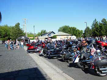 Intermountain Harley Davidson MDA ride June 7, 2014 raised $100,000.00 to send MDA kids to camp.