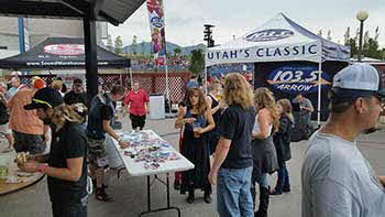 Def Leppard  concert we attended with Arrow 103.5 and Rockford Fosgate last Monday the 28th of September. It took place out at USANA amphitheater.