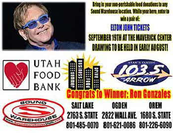 Elton John Tickets Winner - Ron Gonzales