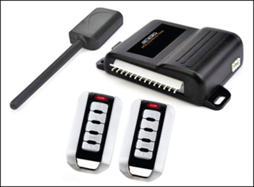 CRIME STOPPER DELUXE ONE-WAY CAR SECURITY ALARM & KEYLESS ENTRY SYSTEM