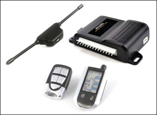 Fortress Deluxe Two-Way Alarm and Keyless Entry System