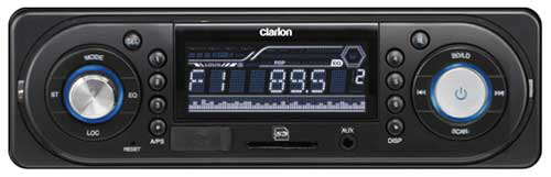 CLARION Single-Din In-Dash Digital Media Receiver
