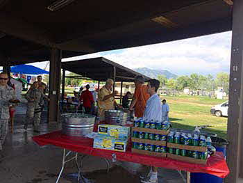 We are one of the proud sponsors of Hill AFB annual Appreciation Day. Gastronomy BBQ'd for the entire base military and their families.