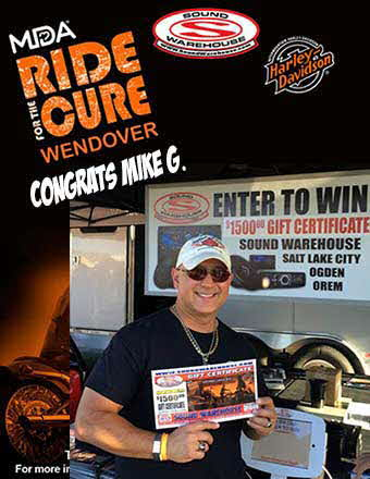 MDA Ride Winner Mike G.