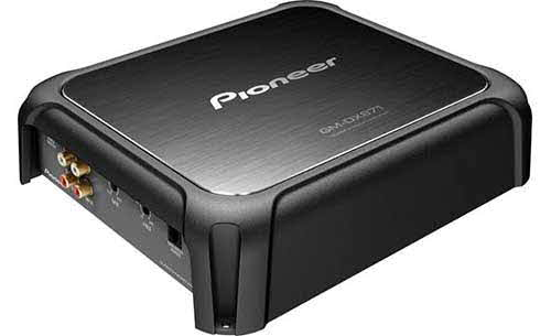 PIONEER Limited Edition mono subwoofer amplifier � 800 watts RMS x 1 at 1 ohm