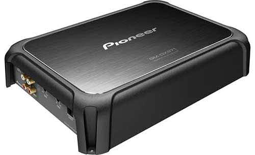 PIONEER Limited Edition mono subwoofer amplifier � 1,200 watts RMS x 1 at 1 ohm