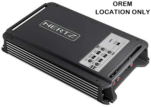 HERTZ D CLASS FOUR-CHANNEL AMPLIFIER