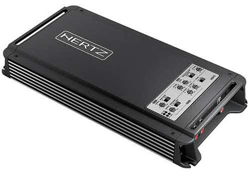 HERTZ D CLASS FIVE-CHANNEL AMPLIFIER