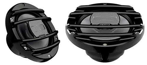 "HERTZ 6.5"" Marine & PowerSports Coaxial Speakers (Black)"