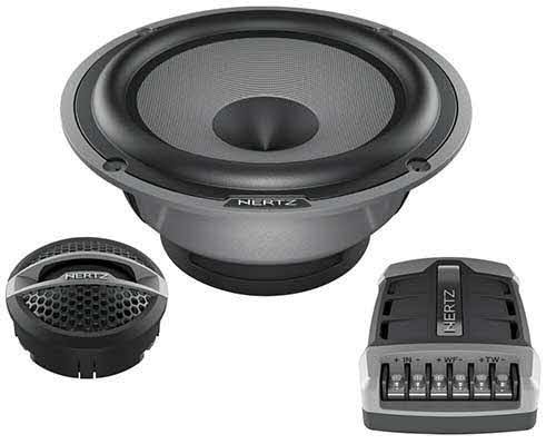 "HERTZ Hi Energy 6.5"" 2-Way System with 250 Watts Maximum Power"