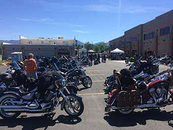 Intermountain Harley's annual MDA Ride For The Cure to Wendover with Arrow 103.5