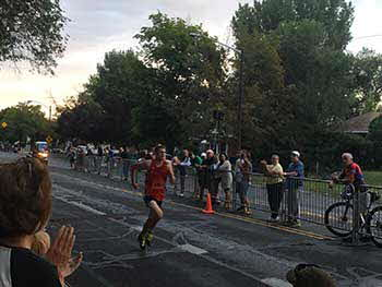 Deseret News Pioneer Days Marathon. Sound Warehouse was the proud official sponsor of the 10K race.