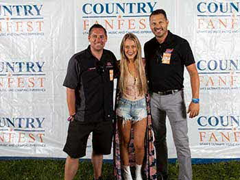 Fun times with Pioneer at the Country FanFest held in Tooele Friday-Saturday July 28-29th.