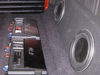 "1955 GMC - INSTALLED KENWOOD AM/FM/CD/USB WITH BUILT IN BLUETOOTH, KENWOOD EXCELON FRONT COMPONENTS, REAR KENWOOD FULL RANGE SPEAKERS, 10"" SHALLOW MOUNT KENWOOD WOOFERS WITH CUSTOM BASS ENCLOSURE, KENWOOD EXCELON 4-CHANNEL AMP AND EXCELON SUB AMP. BUILT A CUSTOM CENTER CONSOLE WITH CUP HOLDERS."