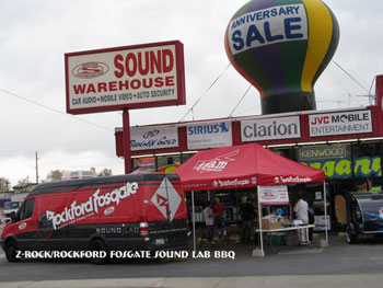 Z-Rock Rockford-Fosgate Sound Lab BBQ