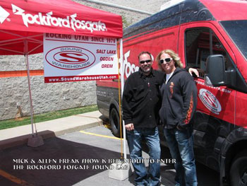 Mick & Allen Freak Show K-BER about to enter the Rockford-Fosgate Sound Lab