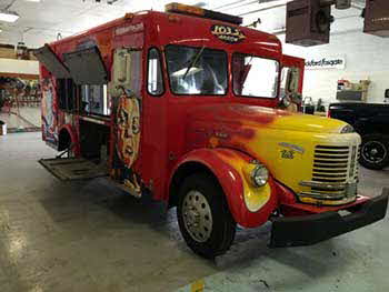 1955 REO Speedwagon Milk Truck