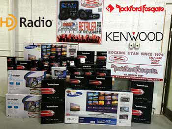 Rockford Fosgate, Kenwood and HD Radio Equipment to be installed!