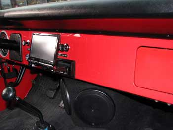 "1975 Bronco. Installed Kenwood Excelon Din 6.95"" Flip-out Monitor/AM/FM/DVD with 2 Rockford Fosgate Prime Series 4-Channel & 2-Channel Amplifiers.  Kenwood 6x9 2-way Speakers in Enclosures and 6 1/2"" Speakers in Enclosure."