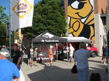 "SOUND WAREHOUSE AND ROCKFORD FOSGATE PROMOTION: ""MAKE A DENT FOR A CURE"" AT THE SALT LAKE BEES ON AUGUST 28TH 2011"