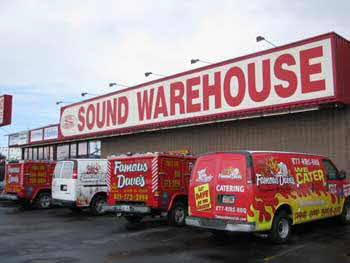 Sound Warehouse installed GPS Tracking Systems in Famous Dave's BBQ