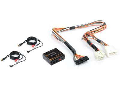 PAC Dual Auxiliary Audio Input Interface for Select Honda, Acura Vehicles