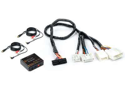 PAC Dual Auxiliary Audio Input Interface with Complete Vehicle Harness for Select 2007-2009 Nissan Vehicles