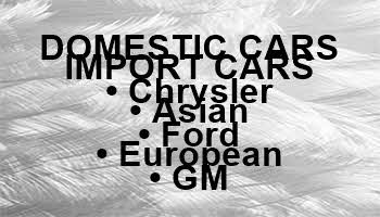 Domestic Cars