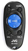 JVC Remote Control Included