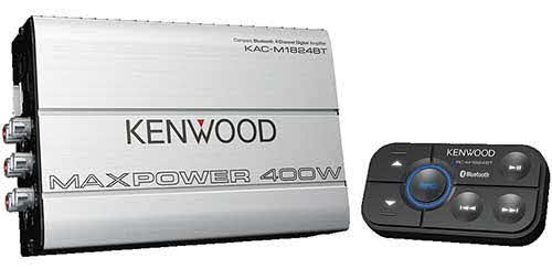 Kenwood Compact 4 Channel Digital Marine Amplifier
