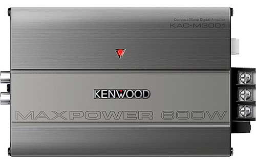 KENWOOD Compact mono subwoofer amplifier � 300 watts RMS x 1 at 2 ohms