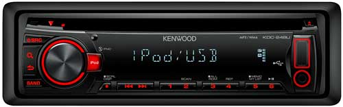 Kenwood CD In-Dash Stereo Receiver - Click Here!