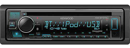 KENWOOD Single DIN CD Receiver with Bluetooth