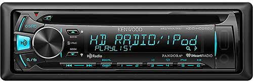 Kenwood In-Dash CD Receiver with Built in HD Radio