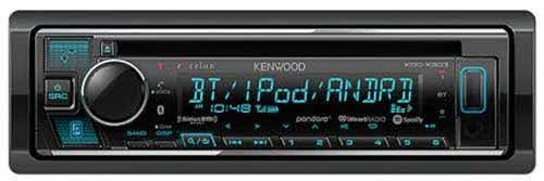 KENWOOD eXcelon is enhanced for 2020 with Alexa Built-In, Bluetooth Version 4.2, and iAP2 support for Apple Music and iTunes Radio. Continued highlights include 5 Volt Pre-outs and a 2 year warranty•!