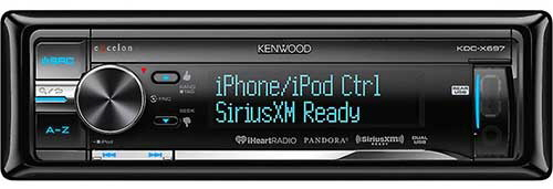 KENWOOD EXCELON In-Dash CD Receiver With Pandora & SiriusXM