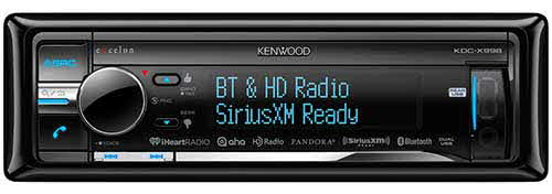 Kenwood eXcelon In-Dash CD Receiver with Built in Bluetooth and HD Radio