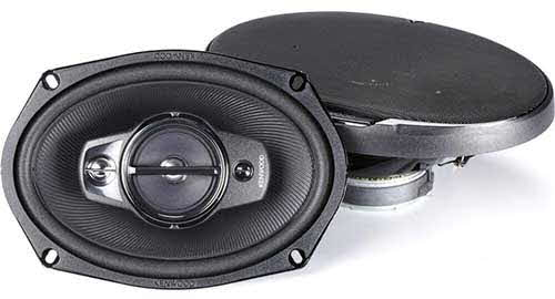 "KENWOOD 6"" x 9"" Performance Series 4-Way Flush Mount Coaxial Speaker"