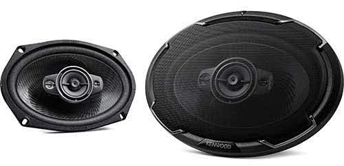 "KENWOOD 6x9"" Oval 4-way 4 Speaker"