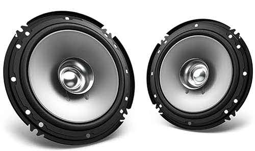 "KENWOOD 600W Max (60W RMS) 6.5"" 2-Way Coaxial Car Speakers"
