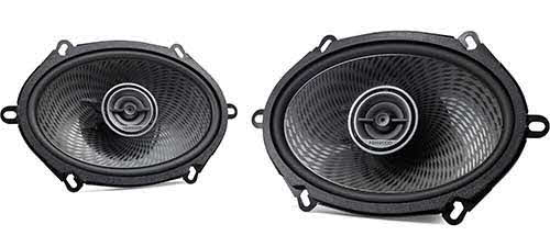 "Kenwood 5""x7"" 2-way car speakers"