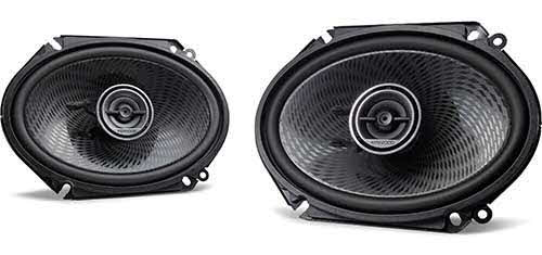"Kenwood 6""x8"" 2-way car speakers"