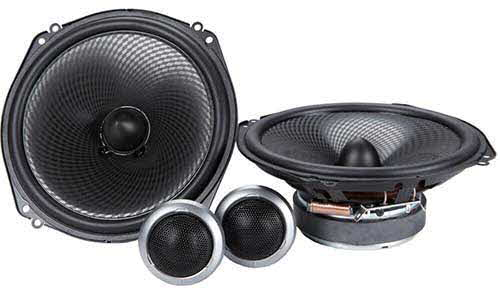 "Kenwood 7"" 2-Way KFC Series Component Car Speakers System"